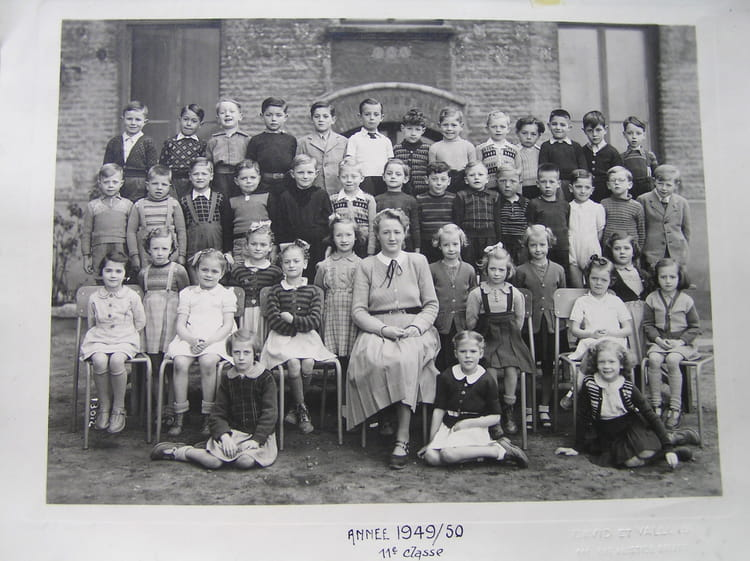 Photo de classe Rosendael de 1951, PAUL MACHY - Copains d'avant