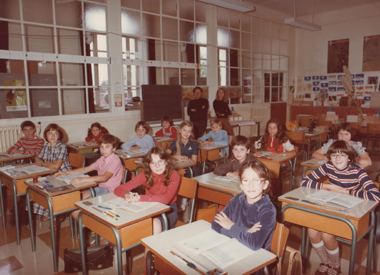 photo de classe cm2 de 1978 ecole pierre brossolette. Black Bedroom Furniture Sets. Home Design Ideas