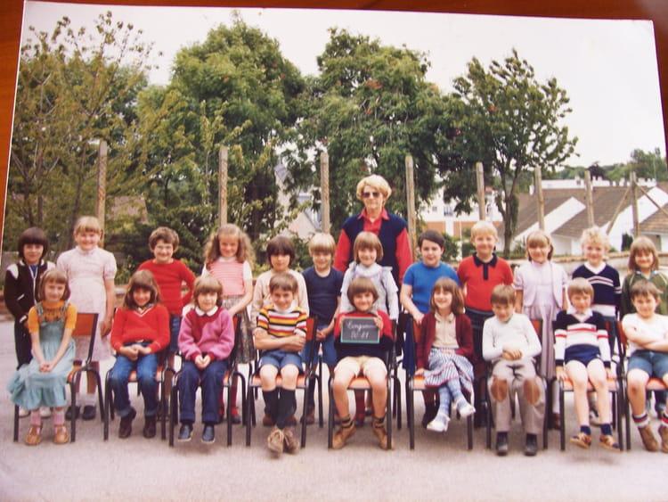 Photo de classe classe de cp de 1980 ecole du centre - Art cuisine longuenesse ...