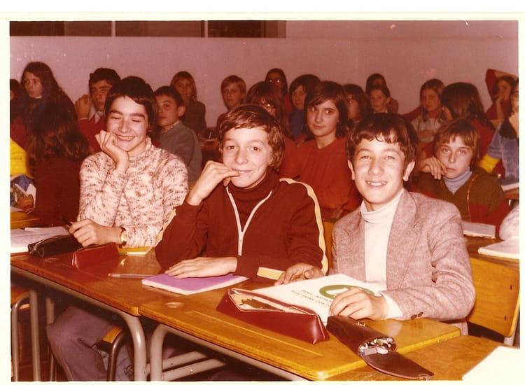 Photo de classe 6 ou 5 me c de 1976 coll ge du jardin des plantes copains d 39 avant - College du jardin des plantes ...