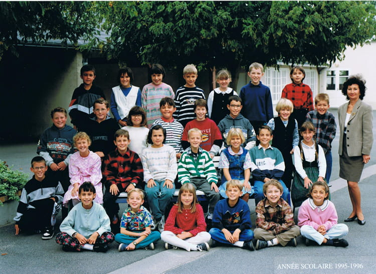 photo de classe cm1 de 1995 ecole des grands villemandeur copains d 39 avant. Black Bedroom Furniture Sets. Home Design Ideas