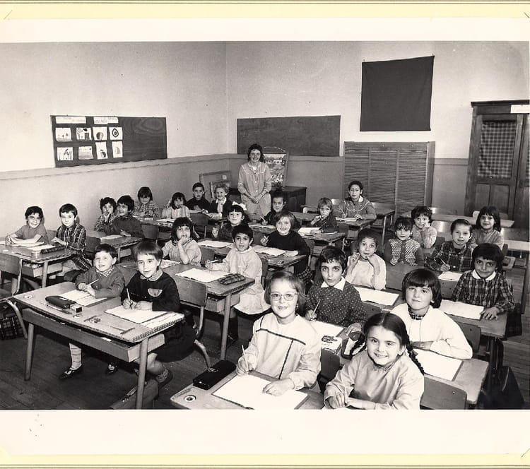 photo de classe classe de cp de 1966 edouard dreux copains d 39 avant. Black Bedroom Furniture Sets. Home Design Ideas