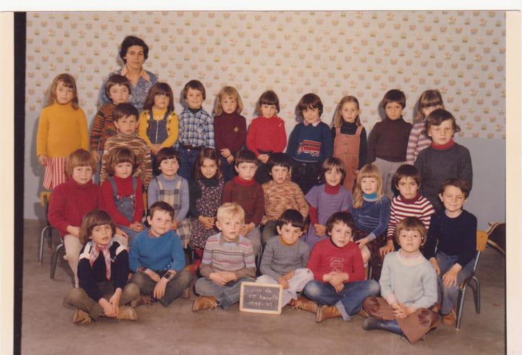 Photo De Classe Grande Section De 1978 Ecole Sainte Marie Saint