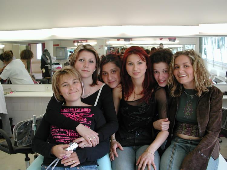 Photo de classe bp coiffure de 2004 cfa de la chambre des m tiers du val de marne copains d 39 avant - Chambre des metiers du val d oise ...