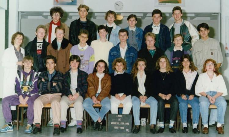 Photo de classe 1 res2 de 1989 lyc e porte de normandie copains d 39 avant - Lycee porte de normandie verneuil sur avre ...