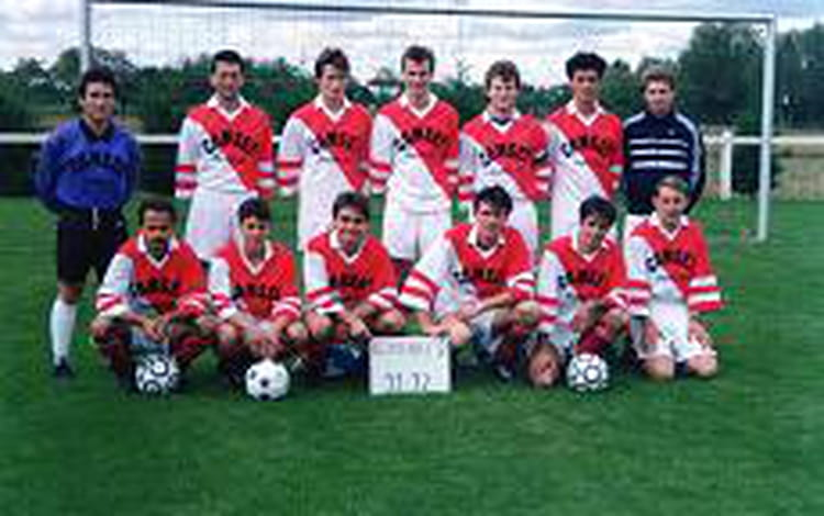 photo de classe equipe de foot st denis en val 1991 1992 de 1991 us saint cyr en val fottball. Black Bedroom Furniture Sets. Home Design Ideas