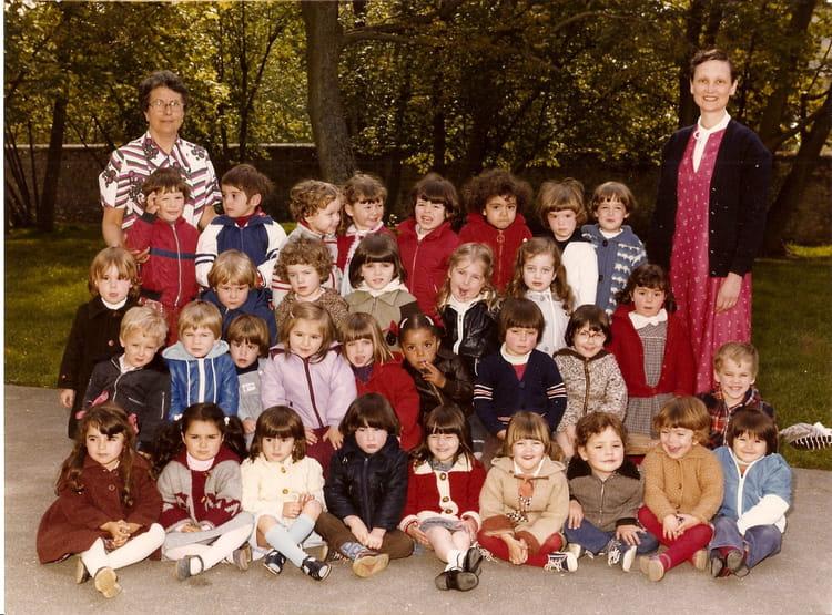 photo de classe maternelle de 1981 ecole jules ferry brie comte robert copains d 39 avant. Black Bedroom Furniture Sets. Home Design Ideas