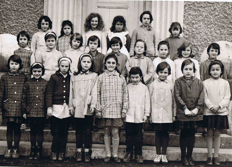 Photo de classe inconnu de 1963 ecole du centre ville la grand copains d 39 avant - Salon du chiot ville la grand ...