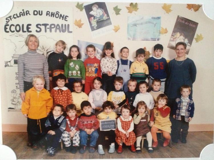 Photo De Classe Ecole Maternelle De Saint Paul De 1998