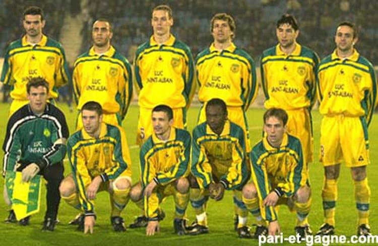 Photo de classe fc nantes 2000 2001 de 2000 fcna copains d 39 avant - Coupe de france fc nantes ...