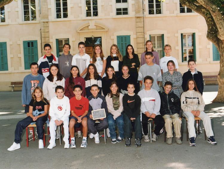 Photo de classe 4 6 de 2001 coll ge viala lacoste copains d 39 avant - Lycee viala lacoste salon de provence ...