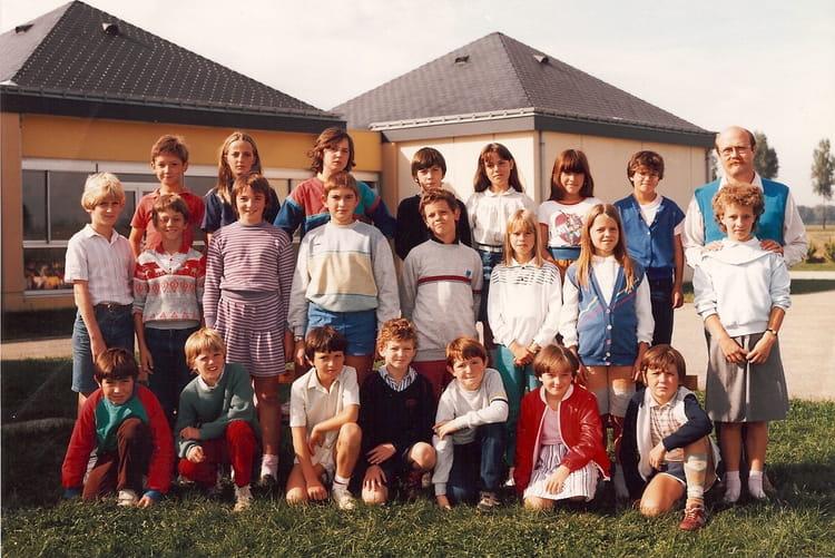 photo de classe cm1 de 1983 ecole de la fosse au bossu angerville la campagne copains d 39 avant. Black Bedroom Furniture Sets. Home Design Ideas