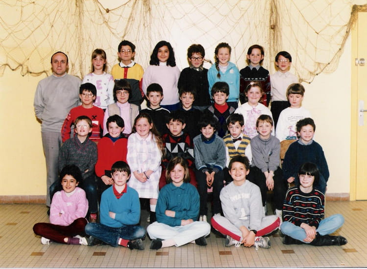 photo de classe ce2 de 1987 ecole paul langevin saint. Black Bedroom Furniture Sets. Home Design Ideas