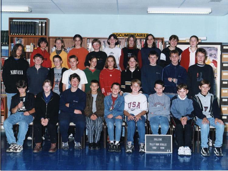 classe 4 ème A de 1997, Collège Du Bois Dorceau  Copains davant ~ College Bois D Orceau