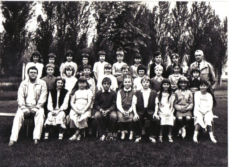 Photo de classe cm2 de 1981 ecole george sand - Art cuisine longuenesse ...