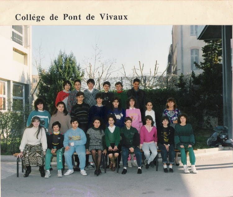 photo de classe coll ge de pont de vivaux de 1988 coll ge pont de vivaux copains d 39 avant. Black Bedroom Furniture Sets. Home Design Ideas