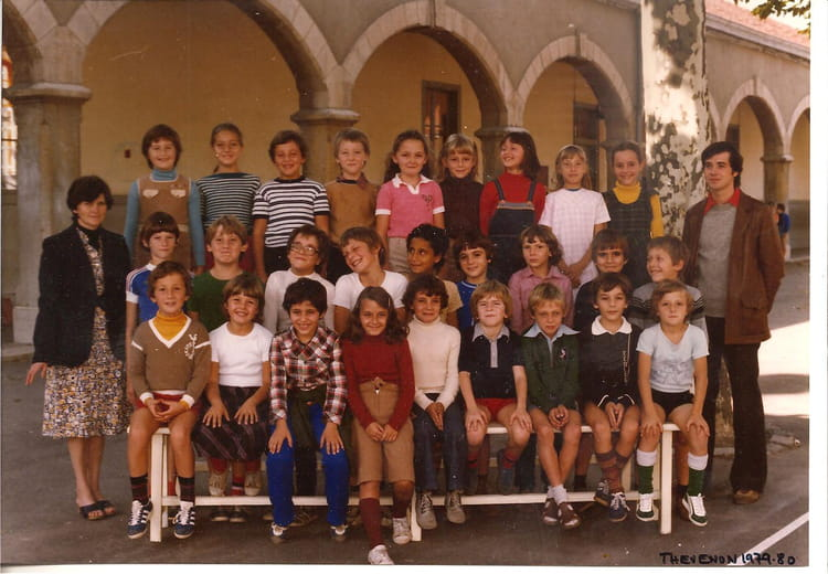 photo de classe mme marion de 1979 ecole thevenon la tour du pin copains d 39 avant. Black Bedroom Furniture Sets. Home Design Ideas