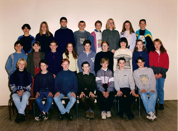 Photo de classe 6eme de 1993 ecole de la forgette les for Les pieux piscine
