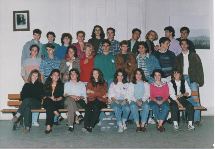 Photo de classe t d 16 de 1990 lyc e alphonse daudet for Lycee alphonse daudet
