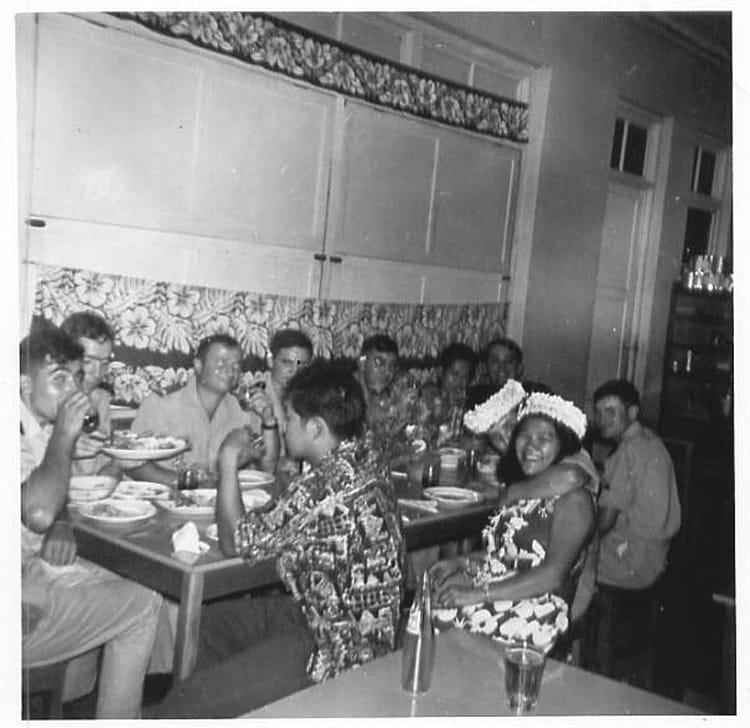 photo de classe anniversaire perry de 1963 5 me r giment mixte du pacifique copains d 39 avant. Black Bedroom Furniture Sets. Home Design Ideas