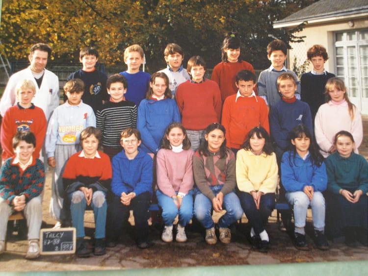 photo de classe classe de cm2 de 1988 ecole roland bourgoin talcy copains d 39 avant. Black Bedroom Furniture Sets. Home Design Ideas
