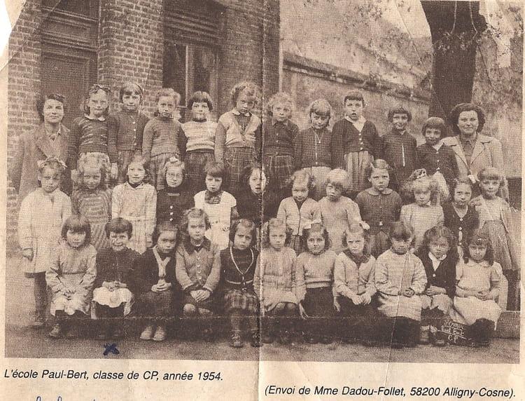 Photo de classe cp de 1954 ecole du centre longuenesse - Art cuisine longuenesse ...