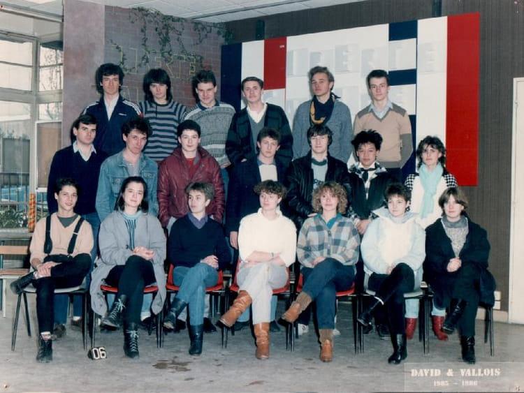 photo de classe 1985 1986 de 1985 ecole boulle copains. Black Bedroom Furniture Sets. Home Design Ideas