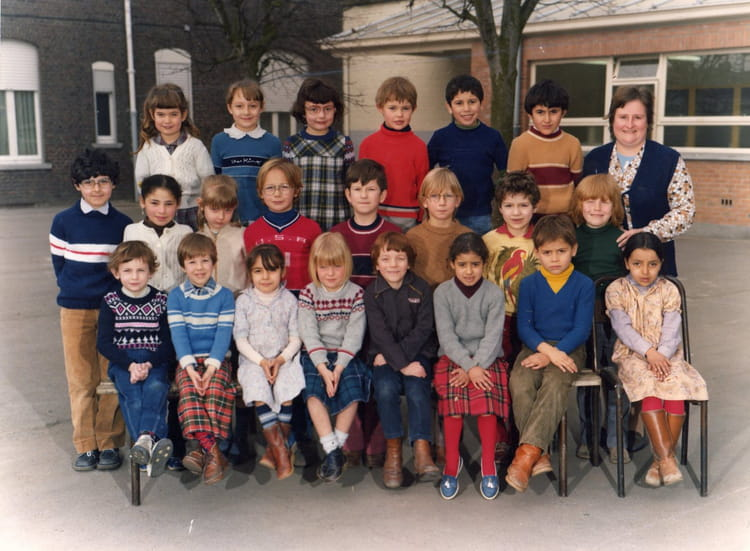 photo de classe ecole jean mac wattrelos de 1982 ecole jean mace copains d 39 avant. Black Bedroom Furniture Sets. Home Design Ideas