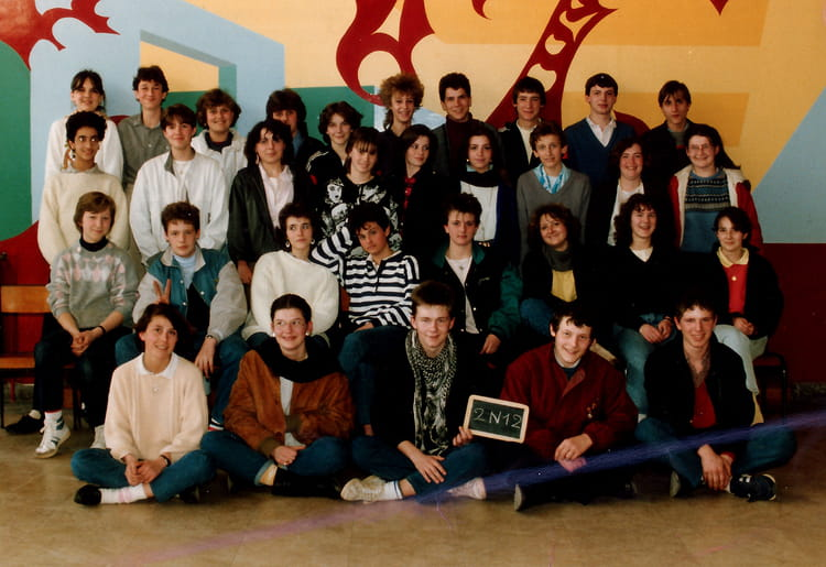 photo de classe 2n12 de 1985 lyc e louis thuillier copains d 39 avant. Black Bedroom Furniture Sets. Home Design Ideas