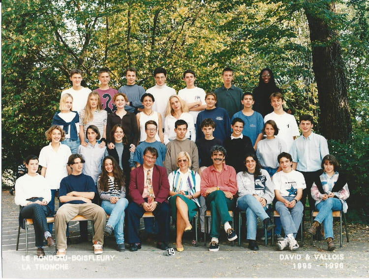 Photo de classe Seconde 9596 de 1995, Itecboisfleury  ~ Itec Bois Fleury