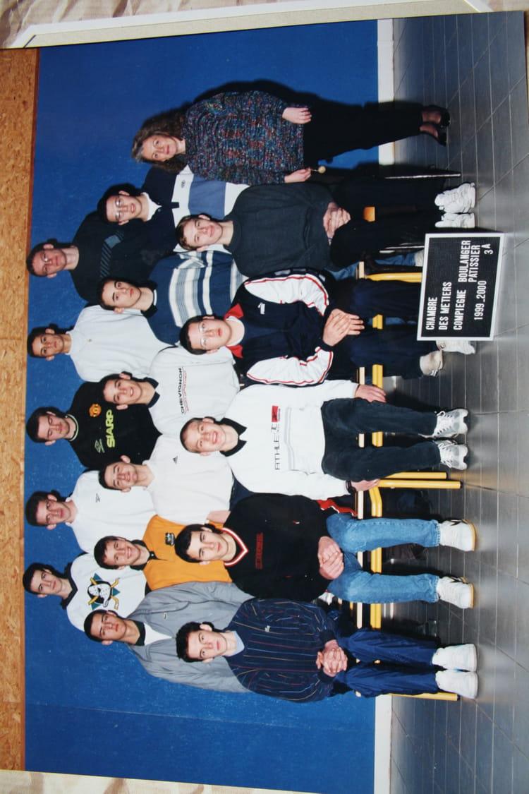 Photo de classe connex pat de 1999 cfa de la chambre de m tiers de l 39 oise annexe de compi gne - Chambre des metiers nogent sur oise ...