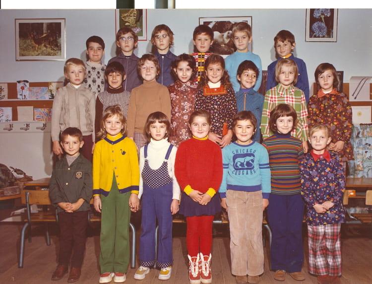 Dampierre Les Bois - Photo de classe Classe de CE1 de 1974, Ecole De La Place (Dampierre Les Bois) Copains d'avant