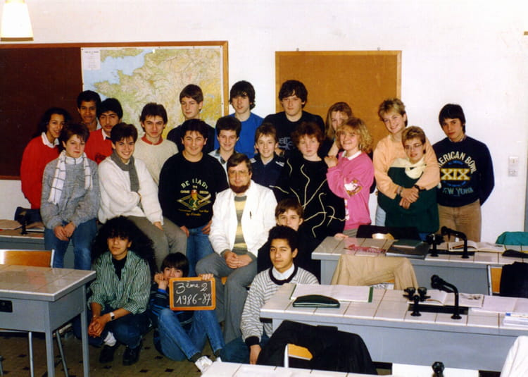 photo de classe 3 me 2 coll ge du himmelsberg sarreguemines classe de m sarter de 1986. Black Bedroom Furniture Sets. Home Design Ideas