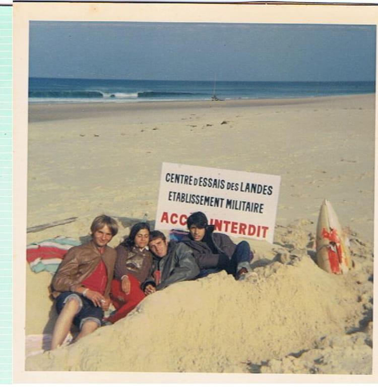 photo de classe biscarrosse plage cote gauche de 1967 camping municipale copains d 39 avant. Black Bedroom Furniture Sets. Home Design Ideas