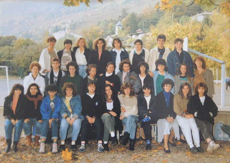 Photo de classe 2ème année BEP CSS ITEC de 1987, Itec  ~ Itec Bois Fleury