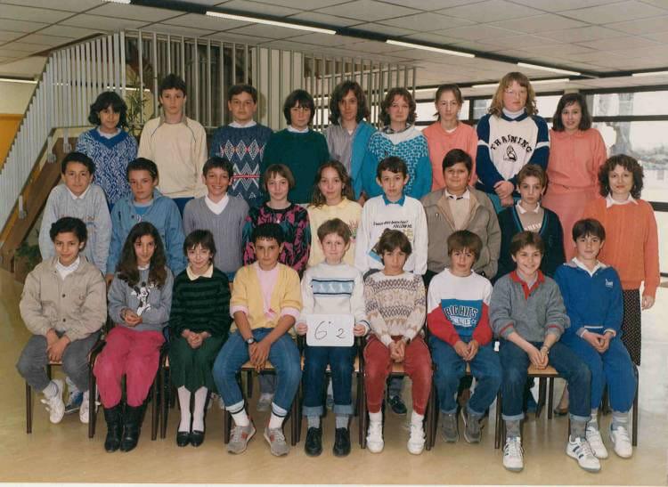 photo de classe 6 233 me de 1985 coll 232 ge porte du m 233 doc copains d avant