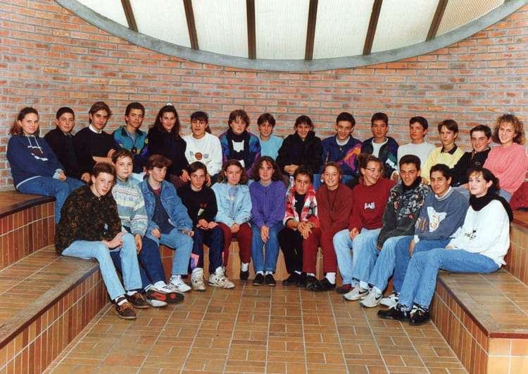 Photo de classe Classe de 3 u00e8me de 1993, COLLEGE ALFRED KASTLER   Copains d u0026#39;avant