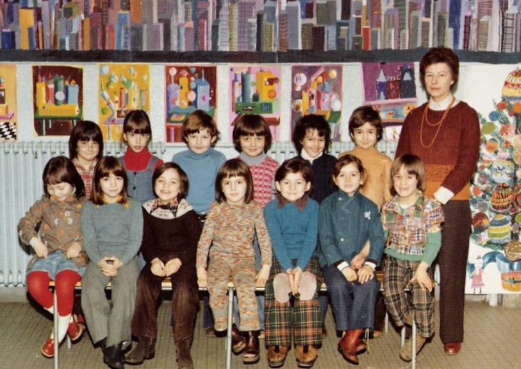 photo de classe cp de 1975 ecole rue wurtz paris 13 copains d 39 avant. Black Bedroom Furniture Sets. Home Design Ideas