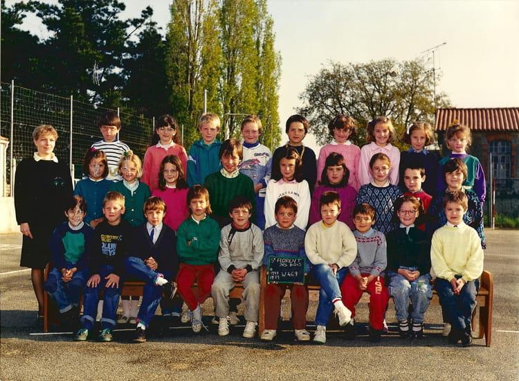 St Florent Des Bois - Photo de classe Ce1 de 1988, Ecole Francoise Dolto (Saint Florent Des Bois) Copains d'avant