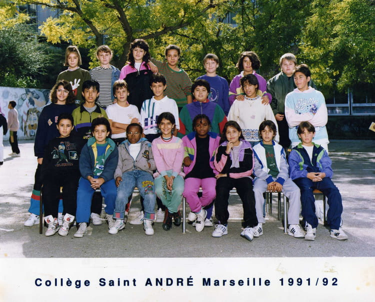 photo de classe 6 me 3 de 1992 college henri barnier copains d 39 avant. Black Bedroom Furniture Sets. Home Design Ideas
