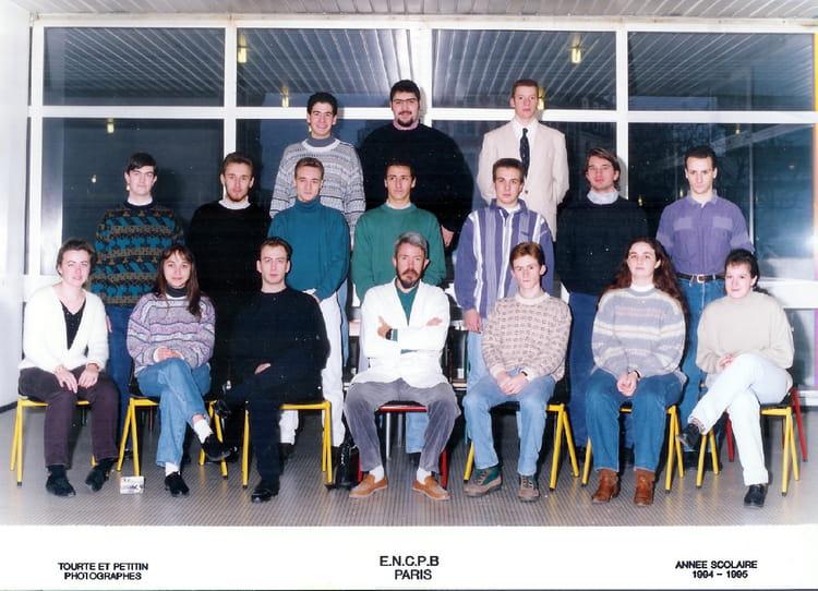 1994 - math sp 94-95 - ecole nationale de chimie physique biologie