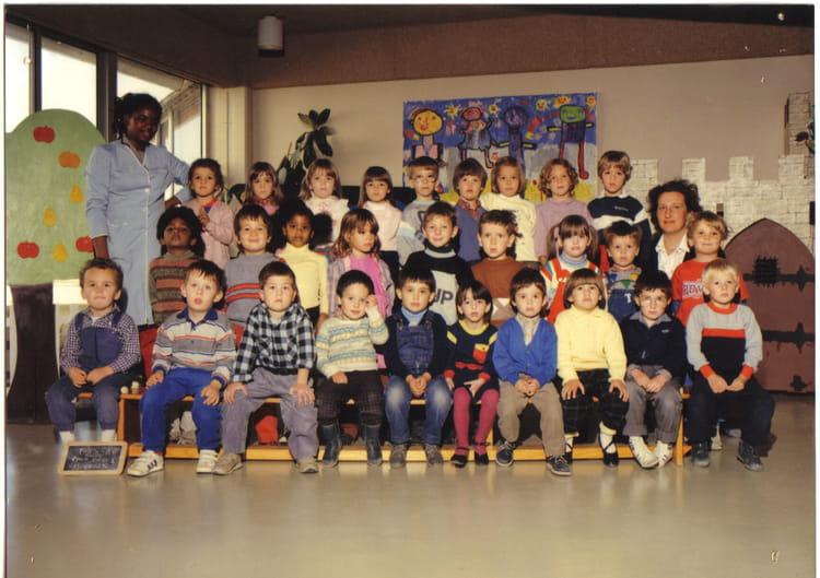 photo de classe maternelle 2e ann e de 1985 ecole paul bert meaux copains d 39 avant. Black Bedroom Furniture Sets. Home Design Ideas