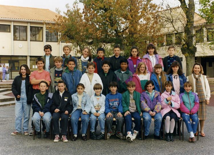 photo de classe 5 232 me6 de 1991 coll 232 ge porte du m 233 doc copains d avant