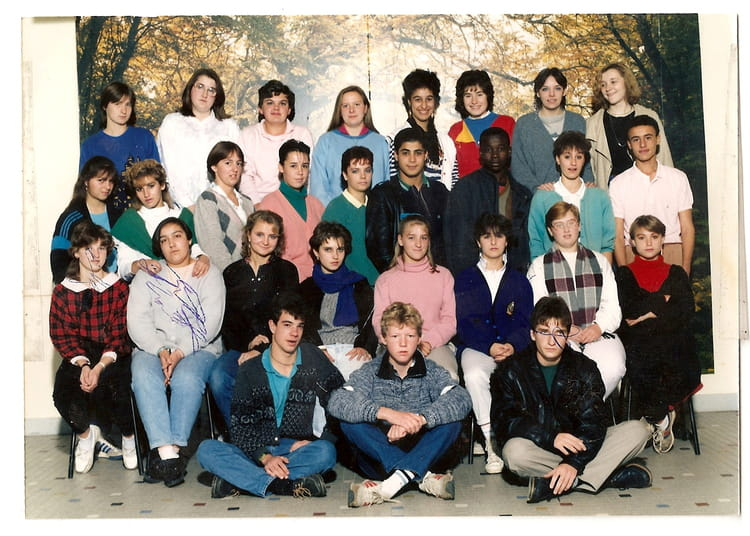 photo de classe cap employe de bureau de 1987 lyc e decouasnon copains d 39 avant. Black Bedroom Furniture Sets. Home Design Ideas