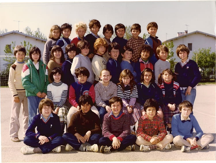 photo de classe cm2 mr geraud de 1980 ecole primaire labarthe sur leze copains d 39 avant. Black Bedroom Furniture Sets. Home Design Ideas