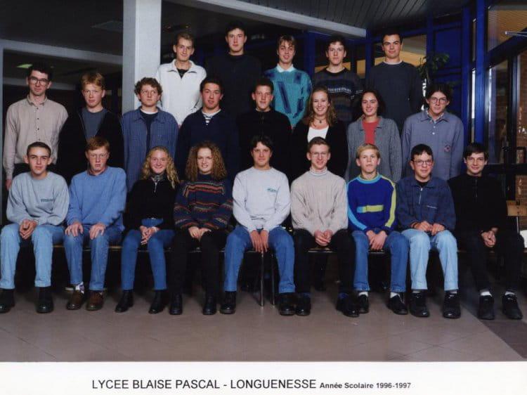 Photo de classe 1 re s de 1996 lyc e blaise pascal cit - Art cuisine longuenesse ...