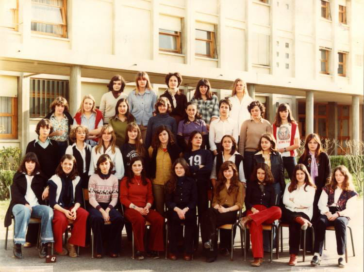 Photo de classe 2nd c de 1977 lyc e paul c zanne - Lycee viala lacoste salon de provence ...
