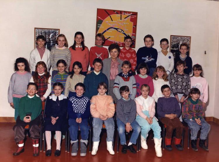 Photo de classe cm2 de 1988 ecole du centre longuenesse - Art cuisine longuenesse ...