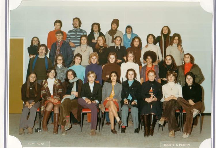 photo de classe classe de premi 232 re lyc 233 e de chelles de 1972 lyc 233 e gaston bachelard copains