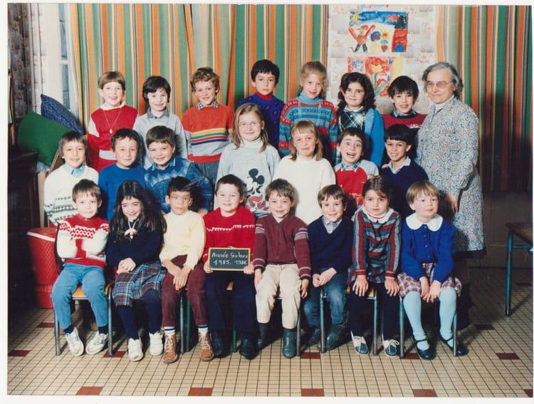 Photo de classe cp de 1985 ecole bieret beaumont la for Garage beaumont la ronce